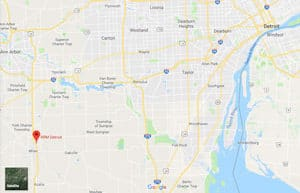A Google Maps image of RRM Detroit in Michigan