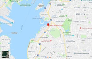 A Google Maps image of RRM New York in New York